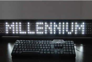 LED Keyboard Display