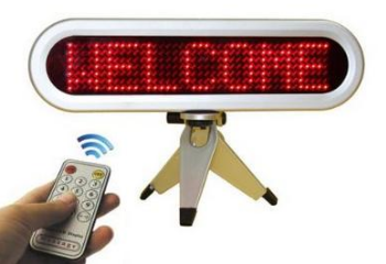 Led Remote Scrolling Display