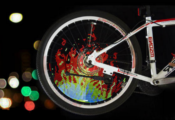 128LEDs Bicycle Full Color Display