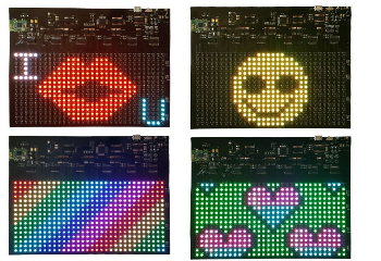 Bluetooth RGB Soft Display