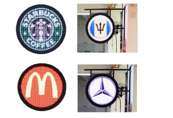P8 LED Circle Display