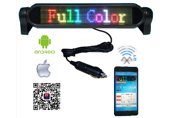 1272 Pixel Bluetooth Display