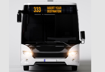LED Bus Stop Display GPS